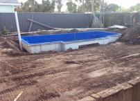 Pool added.